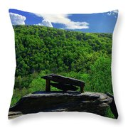 Jefferson Rock  Throw Pillow