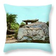 Jefferson Rock  Throw Pillow