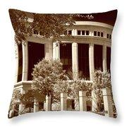 Jeffersonian Throw Pillow