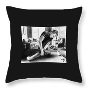Jeffrey Dahmer Is Recieving New Guest Throw Pillow
