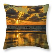 Jekyll Island Sunrise Throw Pillow