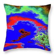 Jelks Pine 11 Throw Pillow
