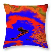 Jelks Pine 13 Throw Pillow