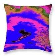 Jelks Pine 14 Throw Pillow