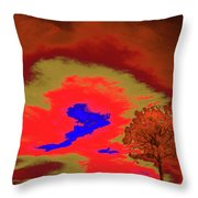 Jelks Pine 5 Throw Pillow