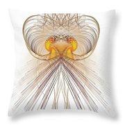 Jelly Fish Art Throw Pillow