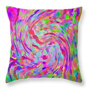 Jelly Roll Throw Pillow