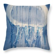 Jellybean Throw Pillow