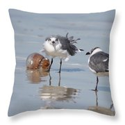 Jellyfish And Friends Throw Pillow