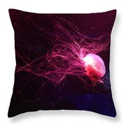 Jellyfish Art 2 Throw Pillow