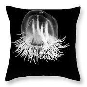 Jellyfish Bell Throw Pillow