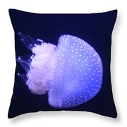 Jellyfish In Motion Throw Pillow