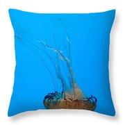 Jellyfish Art Throw Pillow