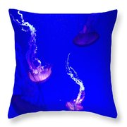 Jellyfish Wall Art 2 Throw Pillow