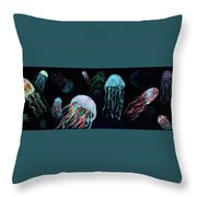 Jelly's Among Us  Throw Pillow