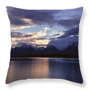 Jenny Lake, Grand Teton National Park Throw Pillow