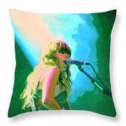 Jenny Lewis 1 Throw Pillow