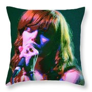 Jenny Lewis 2 Throw Pillow