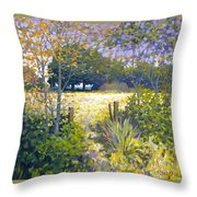 Jeremiahs Field Throw Pillow
