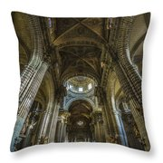Jerez De La Frontera Cathedral Cadiz Spain Throw Pillow