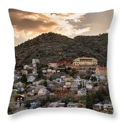 Jerome - America's Most Vertical City Throw Pillow