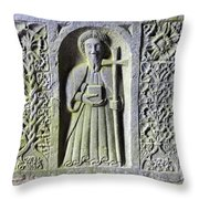 Jerpoint Abbey Weepers Saints James Philip And Matthias County Kilkenny Ireland Throw Pillow