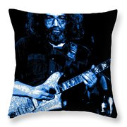 Jerry At Winterland 5 Throw Pillow