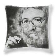 Jerry Garcia Throw Pillow