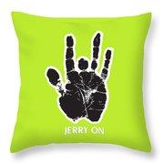 Jerry On Throw Pillow
