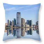 Jersey City Throw Pillow