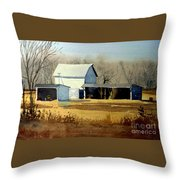 Jersey Farm Throw Pillow