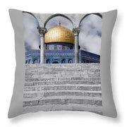 Jerusalem - The Dome Throw Pillow