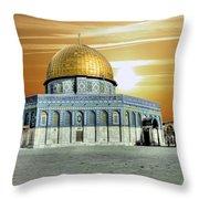 Jerusalem - The Light Throw Pillow