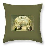 Jerusalem Calvery Throw Pillow
