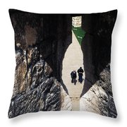 Jerusalem From Atop The Old City Wall Throw Pillow