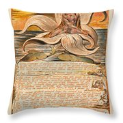 Jerusalem. Plate 28 Throw Pillow