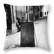Jerusalem: Roman Pillar Throw Pillow