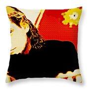 Jesse Cook Throw Pillow