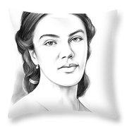 Jessica Findlay Throw Pillow