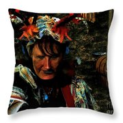 Jester Somnolent Throw Pillow