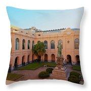 Jesuit Block, Cordoba, Argentina Throw Pillow