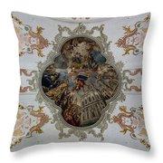 Jesuitenkirche -- Lucerne Jesuit Church Throw Pillow