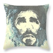 Jesus - 5 Throw Pillow