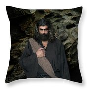 Jesus Christ- Be Still And Know That I Am God Throw Pillow