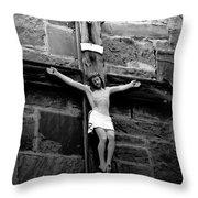 Jesus Christ Throw Pillow