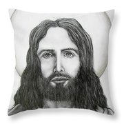 Jesus Christ Throw Pillow
