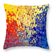 Jesus Christ The Light Of The World Throw Pillow