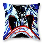 Jesus Christ's Emergence From The Tomb Throw Pillow