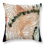 Jesus Crucified Throw Pillow