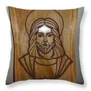 Jesus Frame Throw Pillow